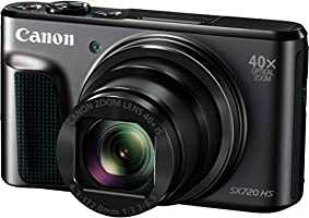 Canon PowerShot SX720 HS Digitalkamera (20,3 Megapixel CMOS-Sensor, 7,5 cm (3 Zoll) LCD-Display, 40 x Zoom, Full HD, WLAN) schwarz