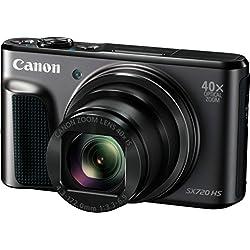 """Canon PowerShot SX720 HS - Cámara Digital compacta de 20.3 MP, Pantalla de 3"""", Zoom óptico 40x, estabilizador, Video Full HD"""