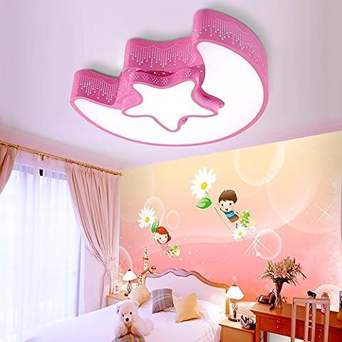 WAWZW Vintage Decke Licht Schatten Retro Deckenleuchte Modern für Flur, Schlafzimmer, Küche, Kinderzimmer, Wohnzimmer Crystal Led Weiß 54*9 cm