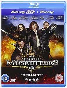 The Three Musketeers (Blu-ray 3D + Blu-ray)