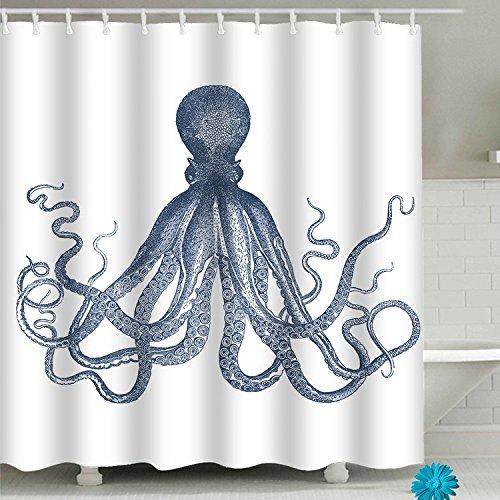 FAITOVE Custom Badezimmer Dusche Vorhang-Sets mit Polyester-Haken-Wasserdicht Decor 149,9cm (W) X 180,3cm (H) 71x71 Pattern5