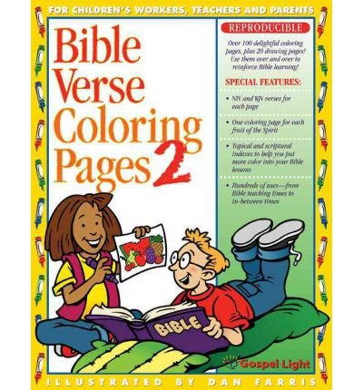 [( Bible Verse Coloring Pages: No. 2 )] [by: Gospel Light] [Nov-2002]