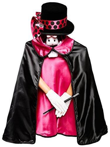 Kostüm Und Hase Magier - MMP Living Magier Kostüm Set - 6 Stück, Rosa