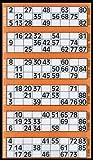 600 Bingo Tickets - Pad of Orange 6 to View Flyers