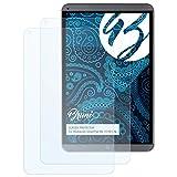 Bruni Pellicola Protettiva per Mediacom SmartPad MX 10 HD Lite Pellicola Proteggi - 2 x Cristallino Protezione Pellicola dello Schermo