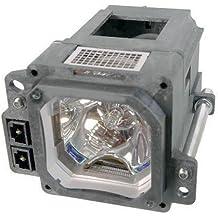 Alda PQ Original, Lámpara de proyector para JVC DLA-HD250 Proyectores, lámpara de marca con PRO-G6s viviendas