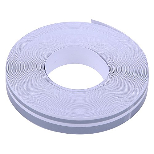 YouN 32ft 4mm X 2mm Pinstriping Pinstripe Vinyl Tape Sticker Double Line(Silver) -