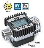 Piusi K24Turbine erfüllen die ATEX/IECEX Digital Meter für Benzin, Diesel, Kerosin