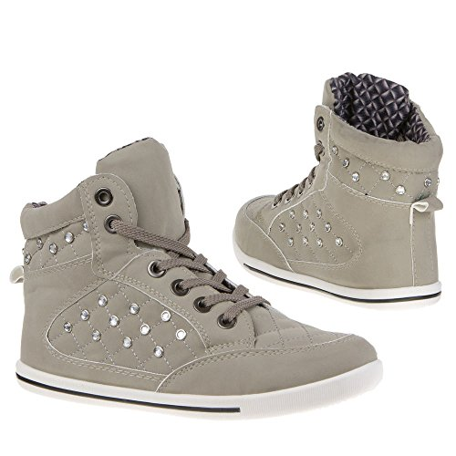 Ital-mD932, chaussures Gris - Gris