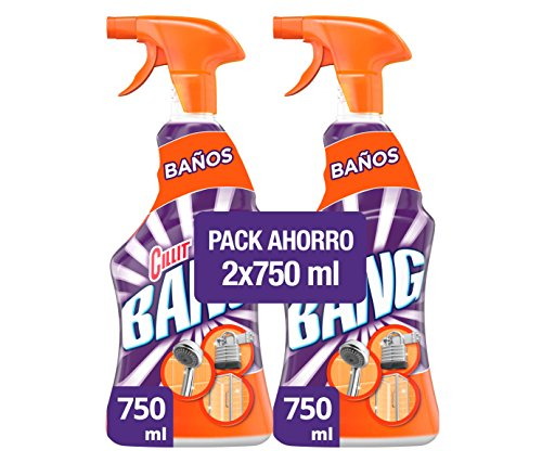 Cillit Bang Potente Limpiador Spray Antical - Pack de 2 x 750 ml