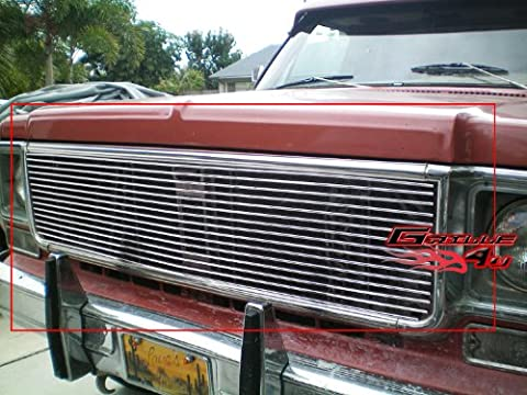 APS C85008A Polished Aluminum Billet Grille Replacement for select Chevrolet Blazer Models