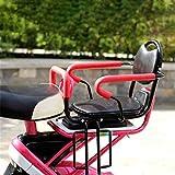 WXQY Accoudoir de barrière détachable et siège arrière pour siège de vélo pour Enfant/vélo à pédale/Chaise pour siège d'enfant