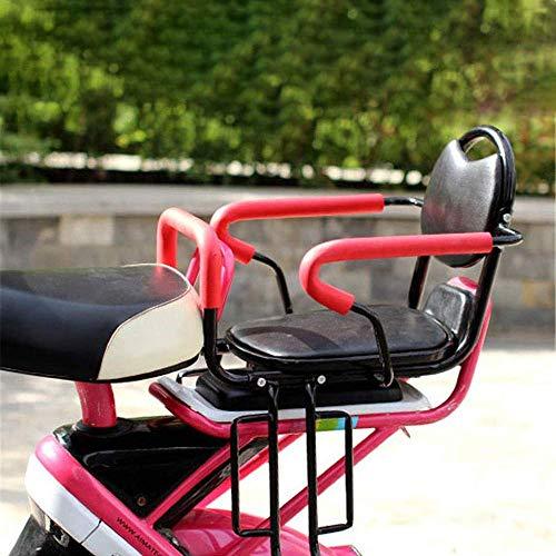 WXQY Abnehmbare Zaun armlehne und Pedal Kind Fahrrad rücksitz/kindersitz zurück/Kind Zaun Stuhl (Sitz Zurück Fahrrad)