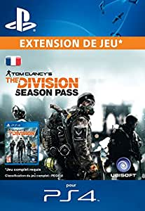Tom Clancy's The Division Season Pass [Extension De Jeu] [Code Jeu PSN PS4 - Compte français]
