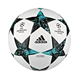 adidas Fussball UCL Finale 17 Top Training White/Core Black/Dark Green/Energy Blue 4