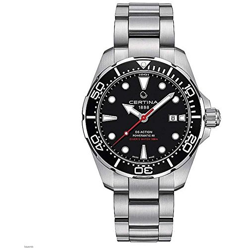 Certina Herren-Armbanduhr DS Action 43mm Stahl Armband Automatische c032.407.11.051.00
