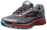 Brooks Adrenaline ASR 12 GTX, Damen Traillaufschuhe, Grau (Anthracite/Hibiscus/Capri), 36.5 EU (4 Damen UK)