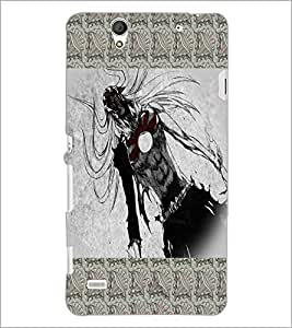PrintDhaba Beast D-5655 Back Case Cover for SONY XPERIA C4 (Multi-Coloured)