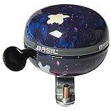Basil Unisex Jugend Stardust Fahrradklingel Nightshade, 6 cm x 8 cm x 7 cm