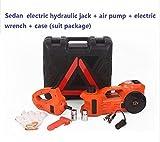 Gowe zu 3Tonnen geeignet 12V elektrisch Hydraulische Boden Multifunktionale Jack mit Volumenpumpe Elektrische Seilwinde 3T Limousine (anti-freezing Funktion)