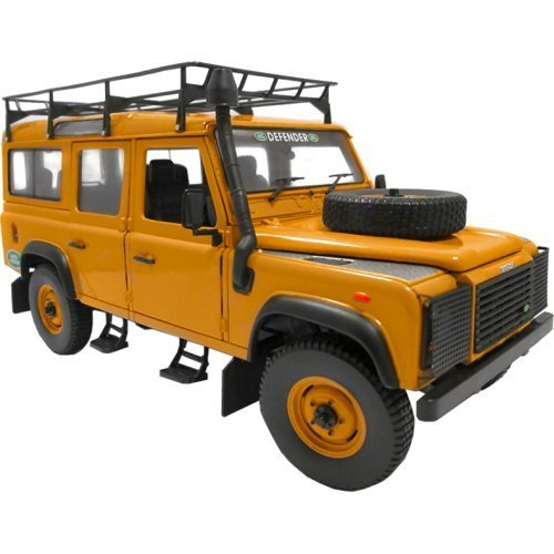 land-rover-defender-110-expedition-yellow-1-18-by-universal-hobbies-3884-by-land-rover