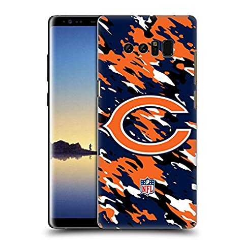 Official NFL Camou Chicago Bears Logo Hard Back Case for Samsung Galaxy Note8 / Note 8
