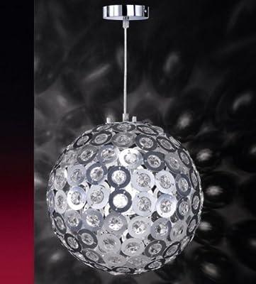 Honsel Leuchten 62421 Pendelleuchte chrom/mattnickel Acryl klar von Honsel auf Lampenhans.de