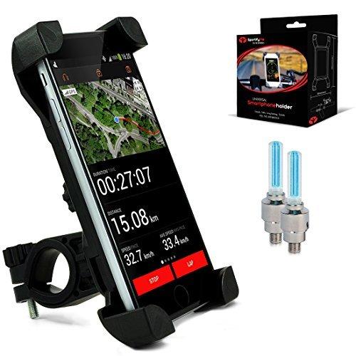 Soporte Universal de Teléfono para bicicleta #1 ǀ Soporte iPhone Bicicleta /...