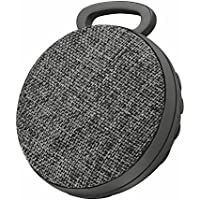 Trust Urban Fyber Go - Altavoz bluetooth con reproductor MP3 integrado y lector micro-SD, color gris