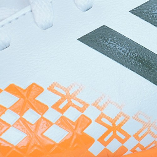 adidas Performance Predito Lz Trx Tf J, Chaussures de Football Entrainement Garçon blanc / Orange