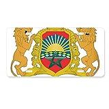 FerryLife Maroc Afrique Emblème Plaque Immatriculation Auto Décoration Accessoire Inox