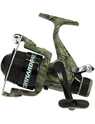 pêche à la carpe LINEAFFE camko Commando 40 Amorce GRATUIT RUNNER moulinet + de rechange bobine