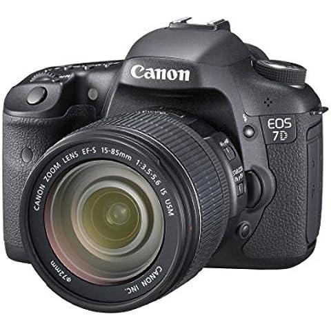 Canon EOS 7D - Cámara réflex digital de 18 Mp (pantalla de 3