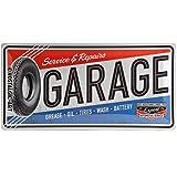 Nostalgic-Art 27004 Best Garage - Garage, Blechschild 25x50 cm