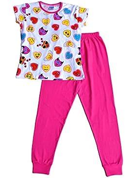 ThePyjamaFactory -  Pigiama due pezzi  - ragazza Pink 11-12 Anni