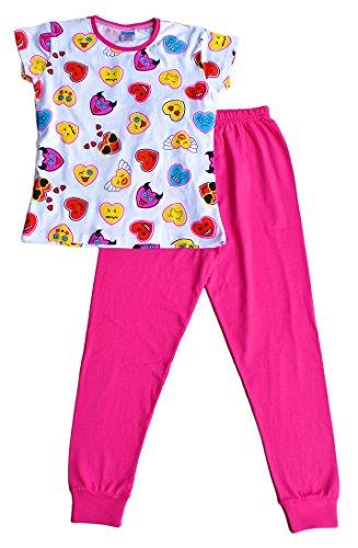 Preisvergleich Produktbild ThePyjamaFactory Mädchen Schlafanzug rosa rose Gr. 11-12 Jahre, rose