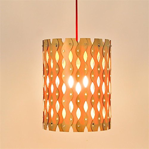 Legno, gioielli creativi Air Charm forma ondulata delle coperture di lampada paralume & Giardino Camera Accessori - Resina Charm