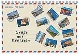 Grüße aus Kroatien (Tischkalender 2017 DIN A5 quer): Grüße aus Kroatien, 12 Ideen für den Urlaub! Entdecken Sie einen kleinen Teil architektonischer ... (Monatskalender, 14 Seiten ) (CALVENDO Orte)