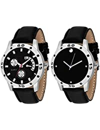 On Time Octus Combo Of 2 Analog Watch For Boys And Mens- OT-207-209