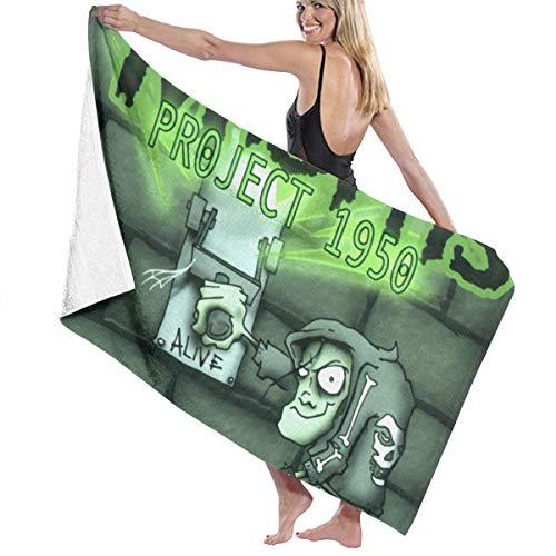 Misfits Gesicht (Ghkjhk8790 Unisex Misfits Project 1950 Multipurpose Bath Towel)