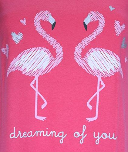 Forever Dreaming Damen Nachthemd Rose Flamant