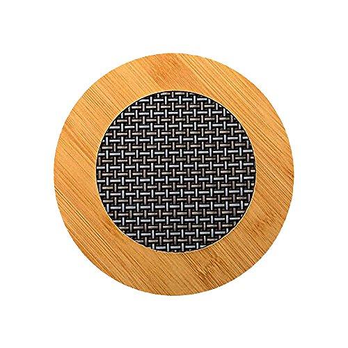 Lot de 2 tapis en bambou Dessous de Plat Coussinets pour plats chauds