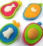 Tiny Toes Mix Assortment Bath Sponge ( A...