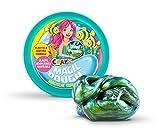 CRAZE Magic Dough Pétris pour Enfants Intelligents Vert Sirène 80G en Boîte BPA sans Gluten 12826