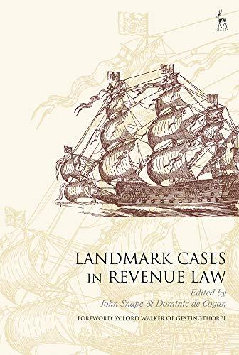 Landmark Cases in Revenue Law Landmark Cases