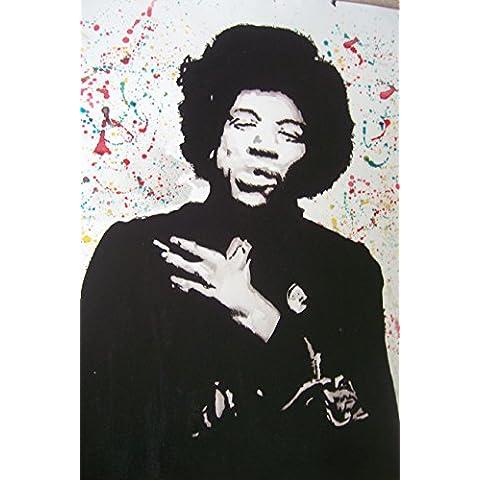 Jimi Hendrix 20x 14dipinto a olio su tela ma Box Framing disponibili su richiesta, si prega di contattarci via email per dettagli. Molti Altri Hendrix, disponibile anche come qualsiasi dimensione Desideri. Si prega di contattarci via email per dettagli. - Framing Olio Su Tela