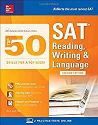 McGraw-Hill Education Top 50 Skills for a Top Score: SAT Reading, Writing & Language, Second Edition by Brian Leaf (2016-09-15)