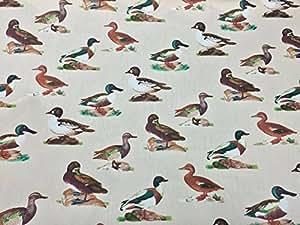 Rose & Hubble mer petits canards oiseaux Motif kids craft Chemise de fanions en tissu Patchwork de canard Motif cygnes world Eau Prestige-Fashion-au mètre
