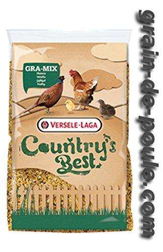20 kg Versele Laga Gra-Mix Country Junghennen Fasanen Hühnerfutter Fasanenfutter -