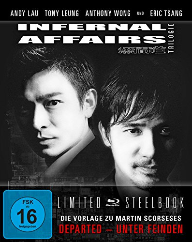 Infernal Affairs 1-3 - Trilogie - Uncut/Steelbook [Blu-ray] [Limited Edition]